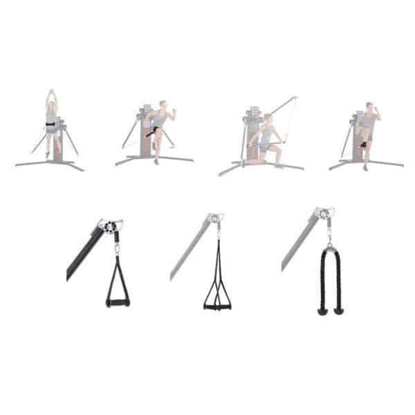 accesorios keiser | Kit accesorios Keiser Infinity